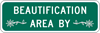 Image of a Beautification Area Sign (I47-1)