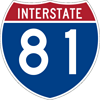 Interstate Route Marker (M1-1)