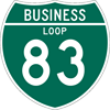 Interstate Business Loop Sign (M1-2)