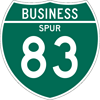 Interstate Business Spur Sign (M1-3)
