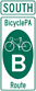 BicyclePA Route Marker (M1-8)