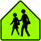 Image of a School Sign (S1-1)