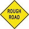 Image of a Rough Road Sign (W8-8)