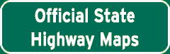 Offical State Highway Maps sign