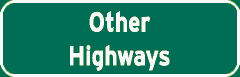 Other Highways sign